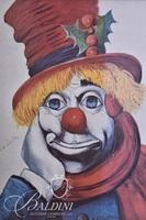 """Red Skelton """"Holly Clown"""" Lithograph, Signed"""