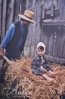 Barry Jackson Photo of Amish Father and Daughter