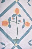 Hand Stitched Tulip Quilt