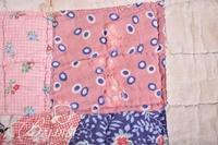 Hand Stitched Quilt Some Wear