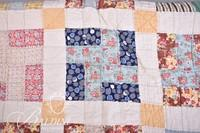Hand Stitched Work Quilt - Some Wear