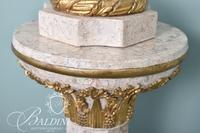 White Stone Pedestal