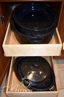 (4) Roasting Pans with Tops