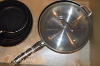 (6) Skillets and One Lid
