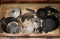 Assorted Cooking Pots - Some Lids