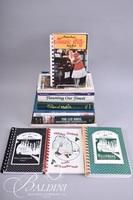 (11) Cookbooks Including Cooking in the House of Cash, Minnie Pearl's Music City Cookbook, Some Signed