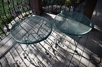 (2) Wrought Iron Tables