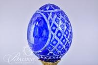 Fabergé St. Isaac's Cathedral Etched Crystal Egg in a Limited Edition of 180/200 Etched on Front
