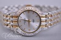 18K White Gold Universal Geneve Watch 22.8 grams, Anne Klein Watch and Elgin Marcasite Watch