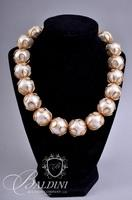 Anne Klein Pearl Necklace with Matching Earrings
