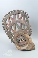 African Tribal Art - Ibo Nigeria Dance Mask