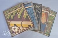 (5) Fortune Magazines
