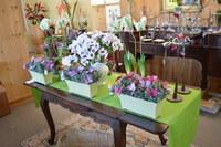 Butterfly Planters and Florals