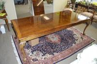 Henredon Chippendale Ball and Claw Banded Dining Table