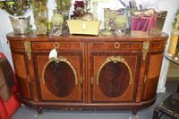 French Breakfront with Dore Bronze Mounts