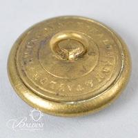 """Non-Excavated Lined Manuscript Old English """"A"""" Artillery 23mm Button"""