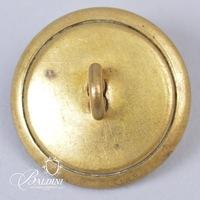 """Non-Excavated Two-Piece Confederate """"R"""" Rifleman 23mm Button"""