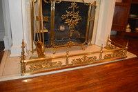 Fireplace Screen, Fender, Andirons and Accessories