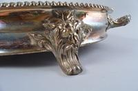 Very Large Silverplate Dome Top Meat Server