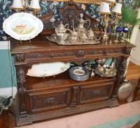 19th Century Renaissance Revival Heavily Carved Sideboard/Server
