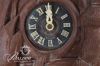 E. Schmeckenbecher Antique Cuckoo Clock
