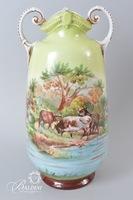 Hand Painted Victoria Austria Vase