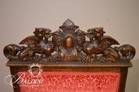 (6) R.J. Horner Dining Chairs With Carved Griffins Late 19th Century