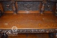 R.J.Horner Sideboard With Carved Griffins Late 19th Century