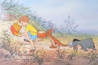 """Winnie The Pooh and the Honey Tree"" Hand Painted Character Cel 393/500"