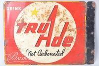 """True Ade"" Tin Sign"