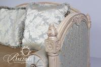 Decorator Loveseat with Pillows