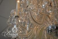 Custom Created 24-Arm Crystal Chandelier