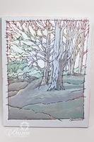 "Paul Harmon ""Ancient Wood"" Original Oil on Canvas 2016, Signed"