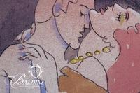 """Paul Harmon """"Movie Kiss"""" Limited Edition Giclee, Signed and Numbered 2/6"""