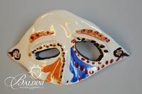Set of Five Paul Harmon Ceramic Carnivale Masks