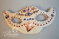 Set of Five Paul Harmon Ceramic Carnivale Masks
