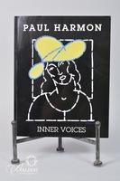 "Artist Signed Paul Harmon Book ""Inner Voices"""