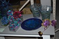 Beaded Cone Trees and Other Tabletop Items