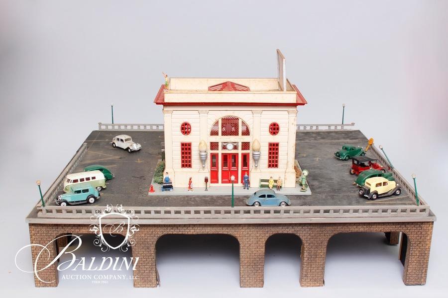 Lifetime Collectible Model Train Auction