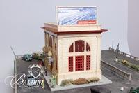 "28"" Lionel City Passenger Station with Pedestrians and Automobiles"