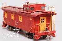O-Gauge 4-4 New York Central Caboose