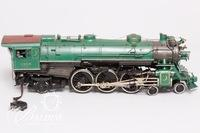 O-Gauge 4-6-2 Crescent Limited 1396 Danville Locomotive Stamped 145 on Undercarriage