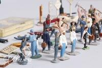 Assortment of Metal & Plastic Figures and Signs