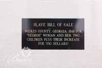1841 Slave Bill of Sale Wilkes County, Georgia