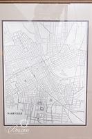 Civil War Era Map of Showing Nashville Area Street Names