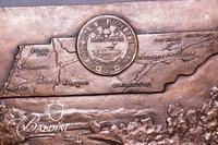 Sandor Bodo (b. 1920) Important Large Original Dimensional Bronze Wall Mount Sculpture Dated 1996