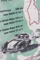 Porsche XXII MILLI MIGLIA 1955 Print Made in Germany