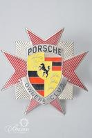 Porsche Owners Club Enameled Grille Badge