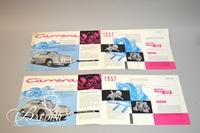 Rare Collection of 39+/- Factory Porsche Brochures 1951 to 1960