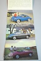Porsche Dealer Driver's Manuals for a 356-A, B and C and other Promotional Material